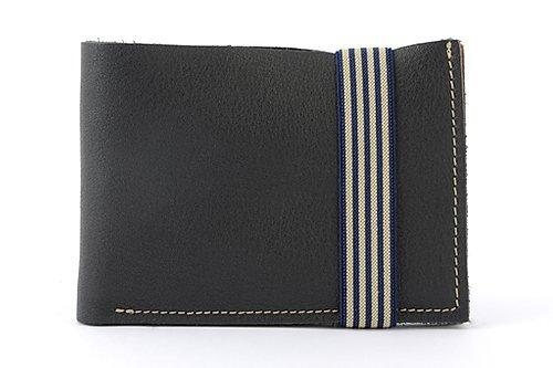 Un portefeuille élégant et décontracté de couleur noire pour le petit je ne sais quoi