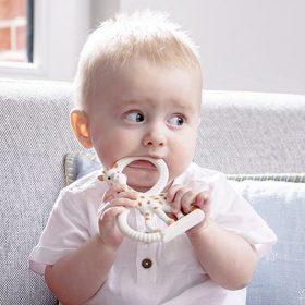 Anneau de dentition souple «Sophie la girafe»