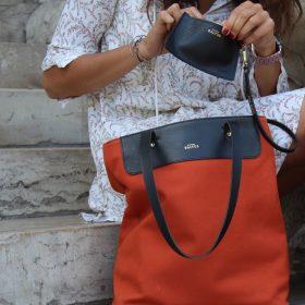 Le sac parfait en lin<br /> (plusieurs coloris)