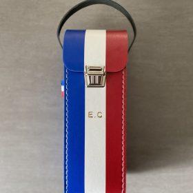 Sacoche de pétanque tricolore