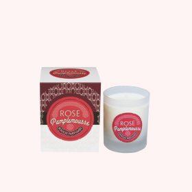 Bougie senteur de France «Rosé pamplemousse»