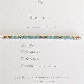 Bracelet code morse<br />