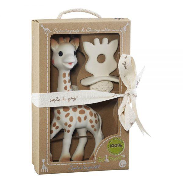 Coffret sophie la girafe avec son anneau de dentition pour le petit je ne sais quoi