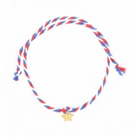 Bracelet «French grigri» Doré