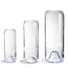 3 bouteilles de vins upcyclées en vases chic et épurés